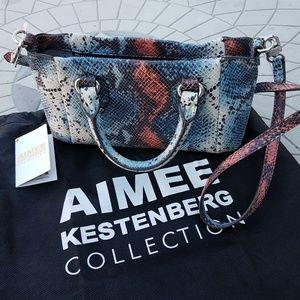 Aimee Kestenberg Miami Embossed Leather Satchel